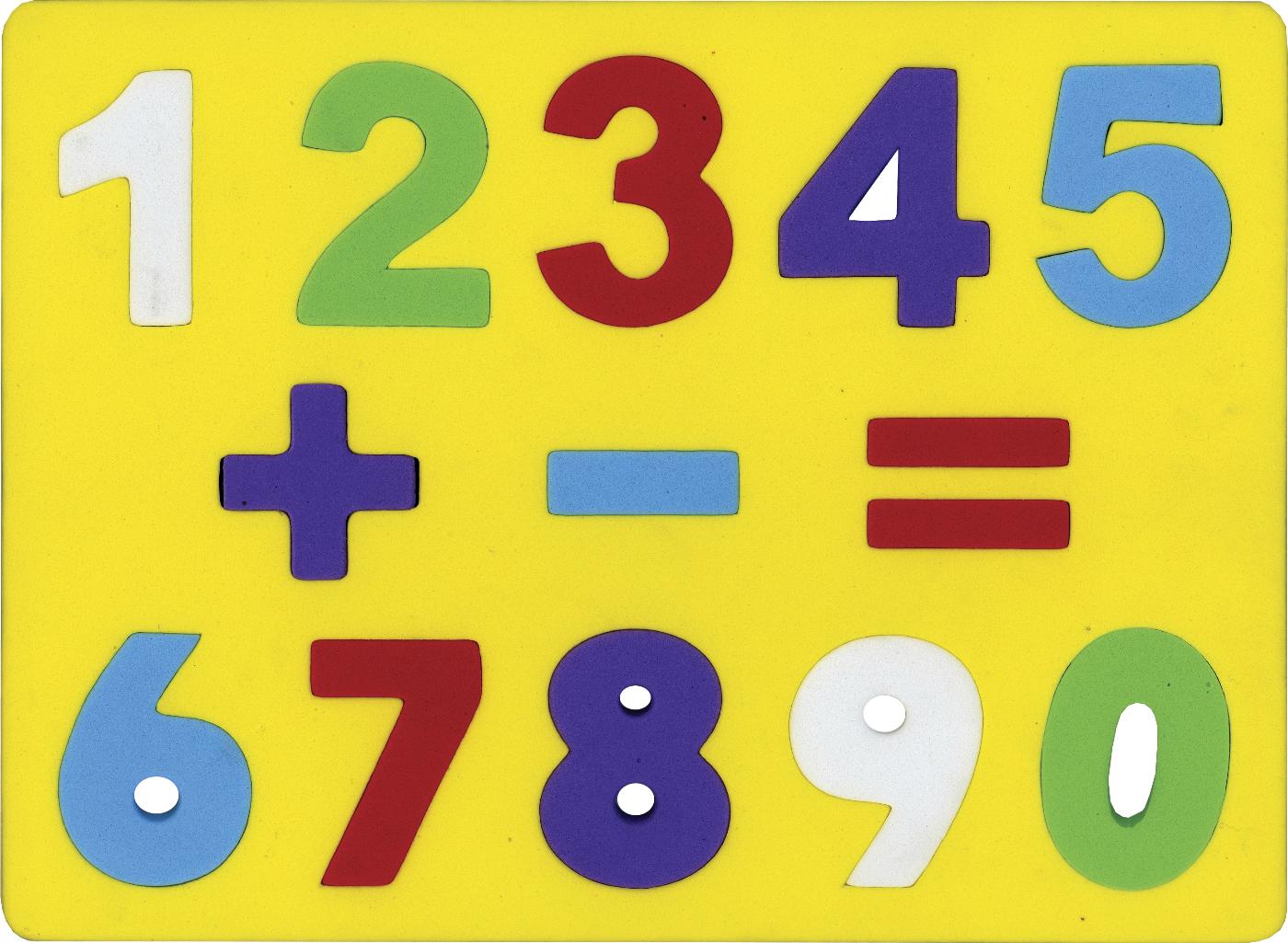 Números - encaje